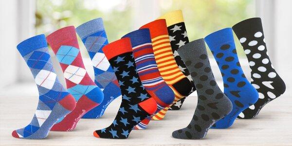 Pánské ponožky, na výběr z 5 vzorů