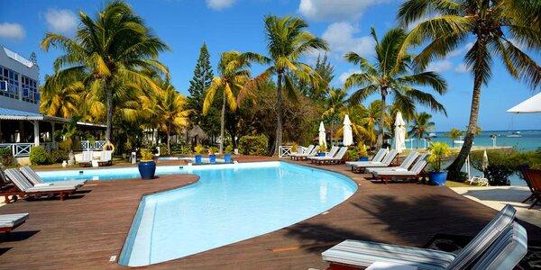 Mauricius pro nenáročné. 3* hotel u pláže i bazén.