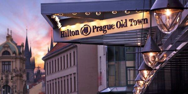 5* hotel Hilton na Starém Městě: snídaně i wellness
