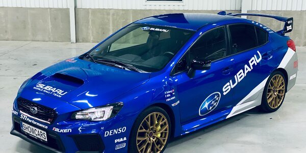 2 nebo 4 kola v Subaru Impreza na Polygonu Brno