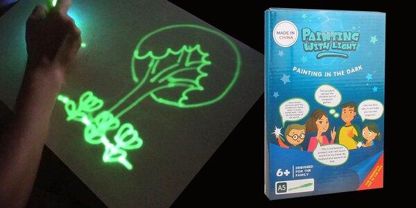Světelné omalovánky pro děti od 4 let