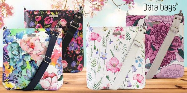 Veselé crossbody kabelky Dara bags v mnoha vzorech