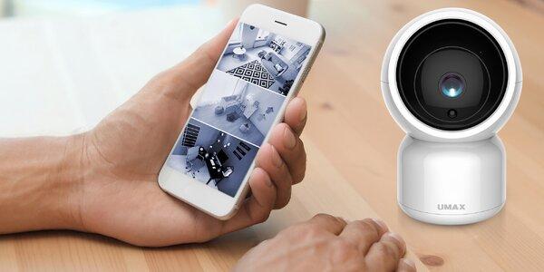Chytrá kamera s detekcí pohybu a nočním viděním