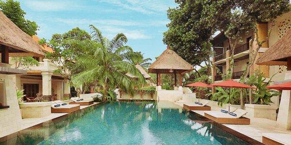 Za exotikou do 4* resortu přímo u pláže na Bali