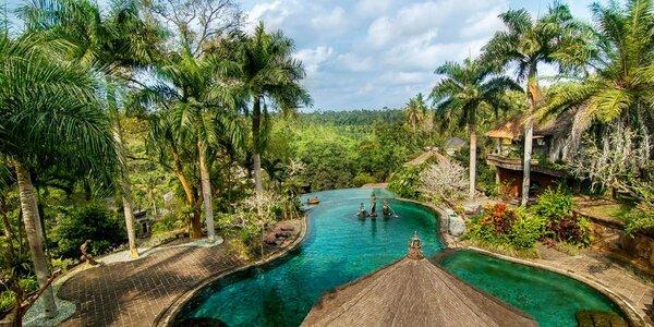 Klid a odpočinek na Bali: 4* resort s bazénem a lázněmi