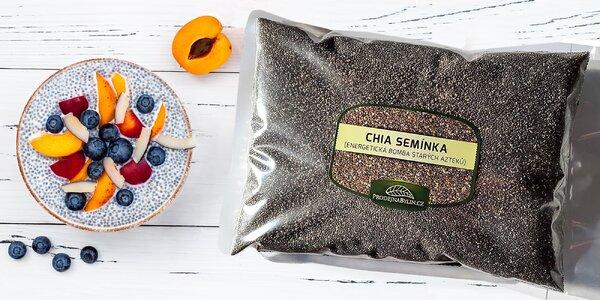 1 kg chia semínek: energetická bomba od Aztéků