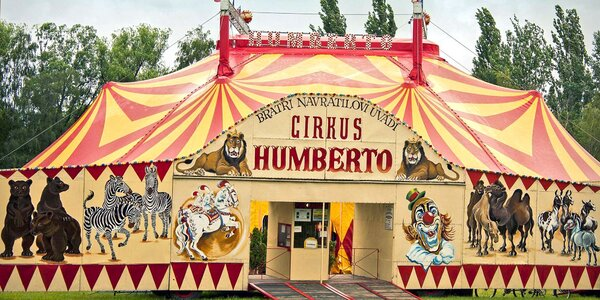 Nejslavnější Cirkus Humberto v Českém Krumlově