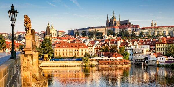 Apartmány v centru Prahy: pobyt až pro 4 osoby