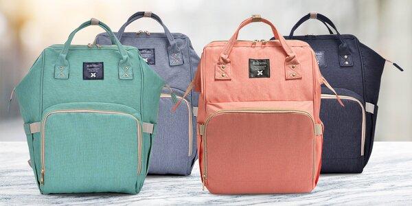 Prostorný batoh ke kočárku pro všechny mámy