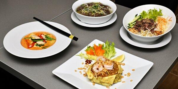 Výběr ze 4 nebo 6 vietnamských jídel v Karlíně