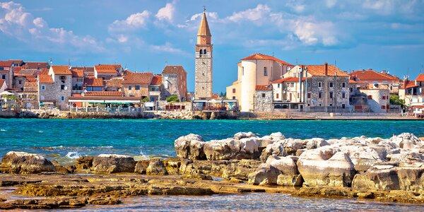 Zkrácená dovolená v Istrii: doprava, jídlo i bazén