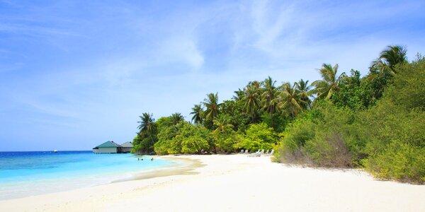 Příjemný 3* hotel na exotických Maledivách