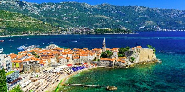 Dovolená v Černé Hoře: ubytování 300 m od pláže