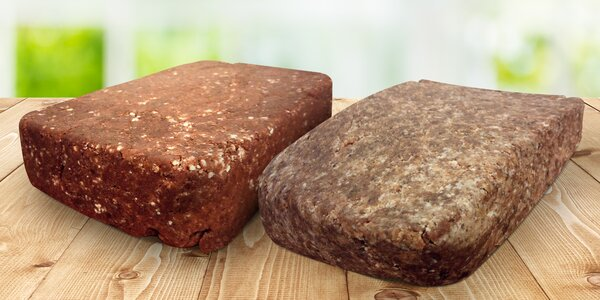 Kilové cihličky zdravých raw Cvičinek: 4 chutě