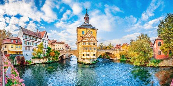 Výlet do Německa: město Bamberk s plavbou lodí