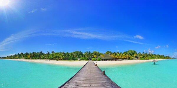 Pravá exotika v 4* resortu na Maledivách