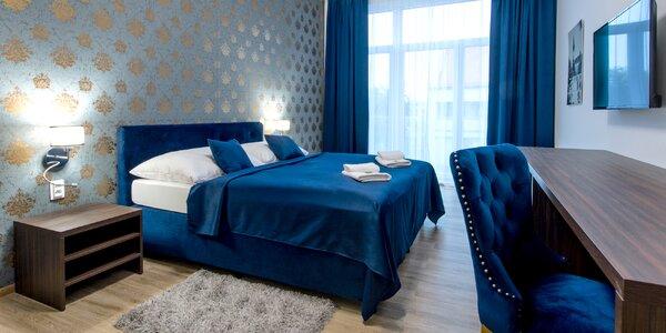 Romantický pobyt ve 4* hotelu: snídaně i láhev vína