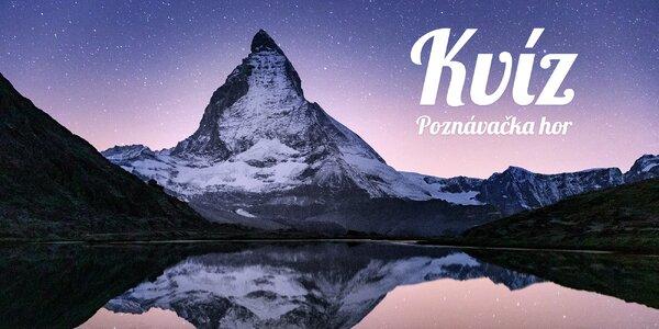 Kvíz: Sněžka, nebo Mont Blanc? Poznáte z fotky české a evropské hory?