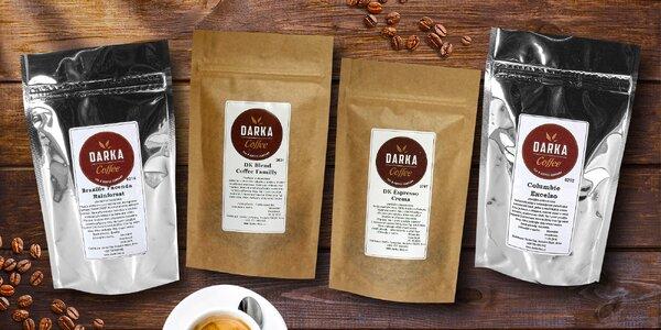 Lahodná zrnková káva z Latinské Ameriky