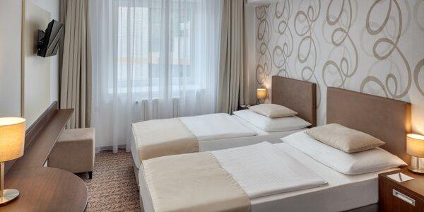 Dovolená v moderním hotelu v Benešově se snídaněmi