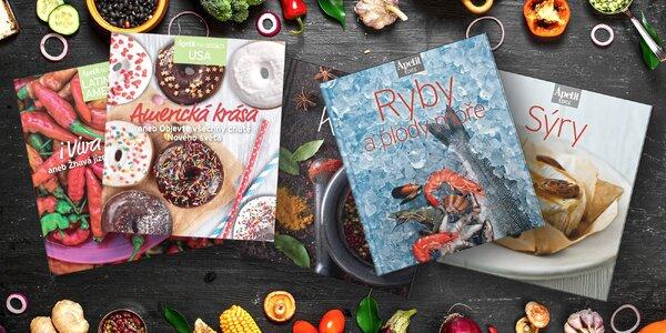 13 kuchařek z edice Apetit: české i světové recepty