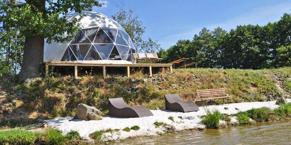Glamping: iglú u Prachovských skal, snídaně až pro 4