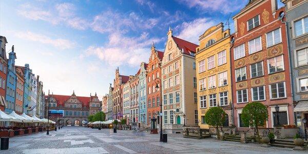 Pobyt v srdci Gdaňsku: snídaně a 10% sleva do spa