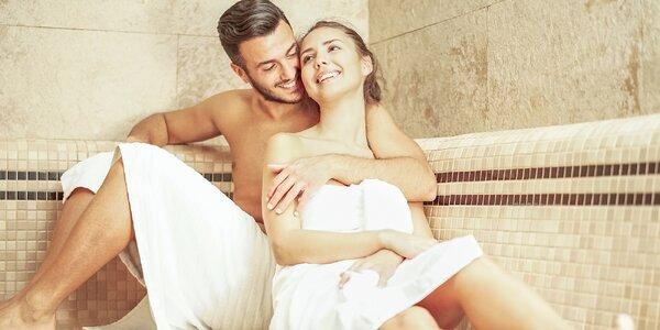 Relax pro rodinu i privátní sauna s drinkem pro dva