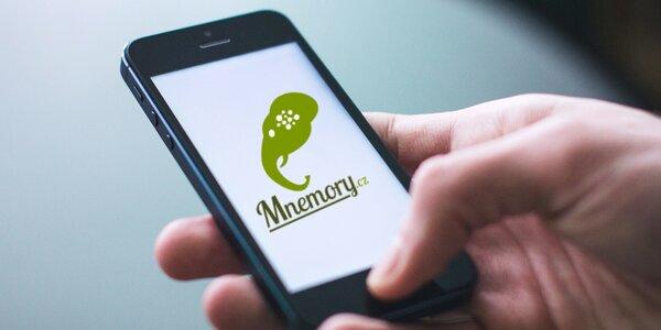 Aplikace Mnemory na snadné učení se angličtiny