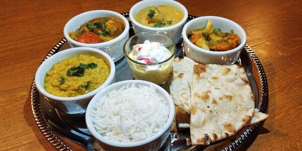 Indické degustační menu pro 1 nebo 2 osoby