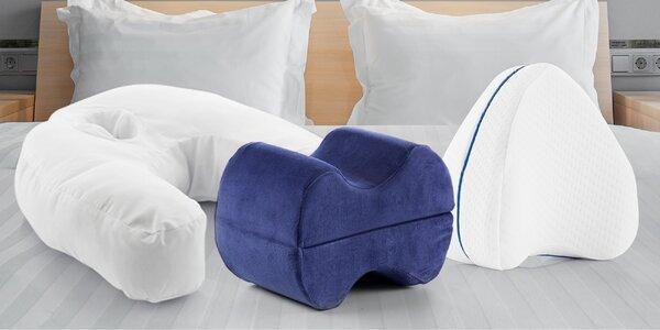 Sladký spánek: ergonomické i polohovací polštáře