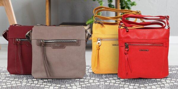 Dámské crossbody kabelky v podzimních barvách