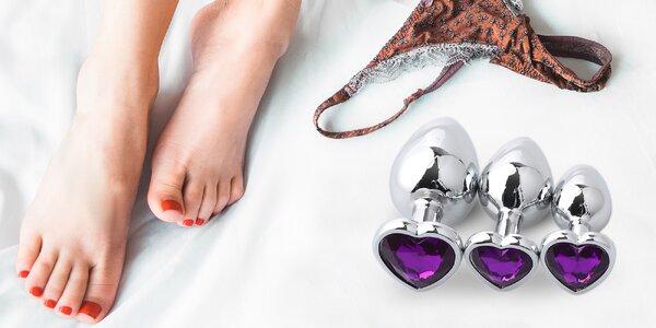 Zpestřete si milování: anální šperky s krystalem