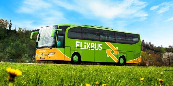 Sleva na FlixBus: linka Praha – Brno