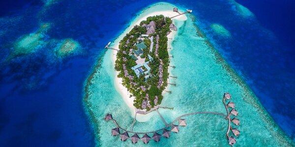 Exotika a odpočinek v 4*+ resortu na Maledivách