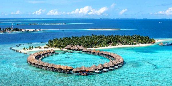 Luxusní dovolená na Maledivách v 5* hotelu