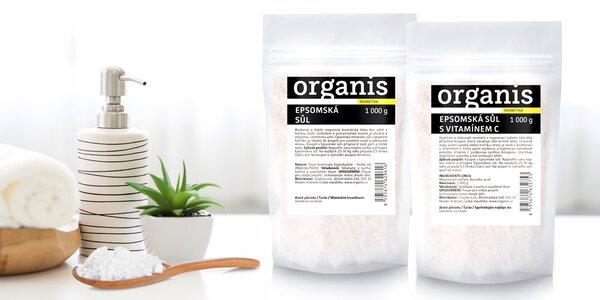 Epsomská sůl pro unavené svaly i regeneraci kůže