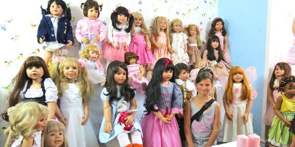 Vstup do muzea panenek pro děti i dospělé