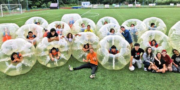 Nafouknutá zábava: Bubble Football na 60 minut