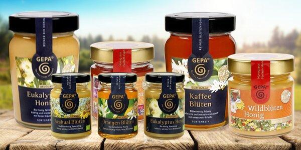 Fair trade medy s eukalyptem i skořicí