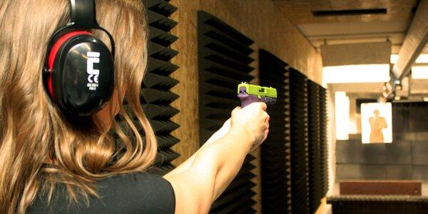 Střelecké balíčky až pro 2 osoby: 1–5 zbraní
