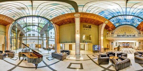Luxus v centru Budapešti: až 7 nocí se snídaní