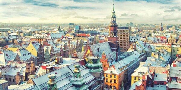 Jednodenní výlet na adventní trhy ve Wrocławi