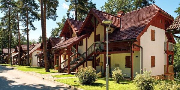 Termály ve Slovinsku: vilky u jezera, bazény i sauny