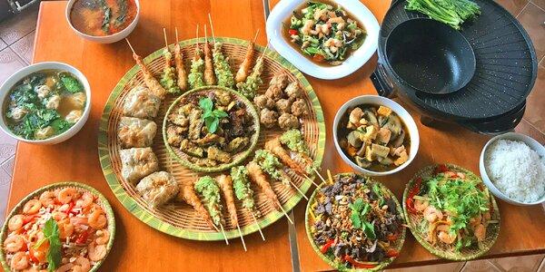 Autentické vietnamské menu pro 2 až 8 osob