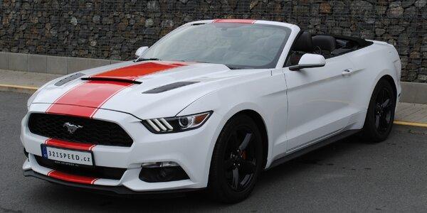Zapůjčení Fordu Mustang 3.7 V6 Cabrio až na 24 hod.