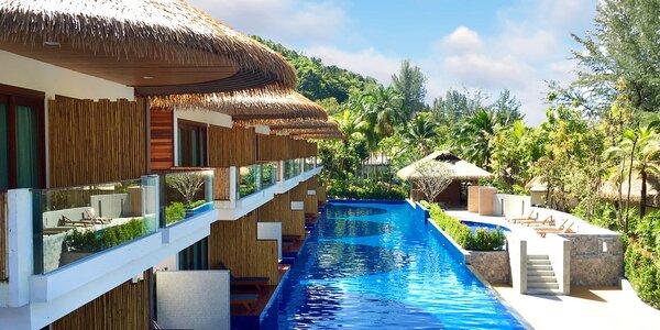 4* resortu v Thajsku, bazén s wellness částí