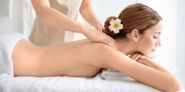 Thajská masáž zad a šíje v délce 60 minut