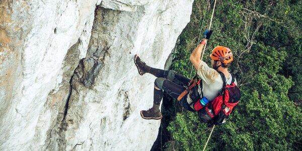 Kurz slaňování z výšky 35 metrů pro 1 osobu