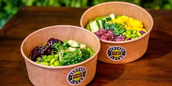 Poke bowl podle výběru a ice tea pro 1 či 2 osoby